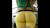 super culo en spandex amarillo - download porn videos