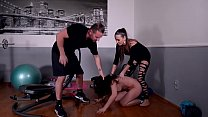 Fetish slut Wendy Moon gets Pissed on & Dominated by a Couple Preview