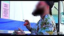 Massage Vidz » Serving food while taking it doggystyle thumbnail