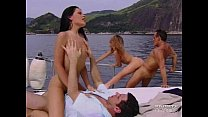PrivateClassics.com - DP Orgy in a Millionaire's Ship video