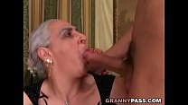 Granny Sucks Huge Young Cock pornhub video