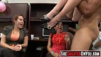 6395 39 Rich milfs blowing strippers at underground cfnm party!45 preview