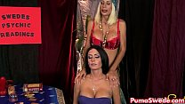 Hot Psychic Puma Swede Fucks Her Hot Client! preview image