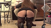 """Image: Madisin Lee in MILF mom helps son with his """"Term Paper Blue Balls"""""""