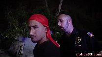 Muscular police gay xxx Thehomietakes the easy way