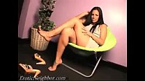 Lexi Lapetina Dangling Heels Dressing Room's Thumb