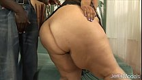 15967 Fatty Latina Lorelai Givemore riding black cock. preview