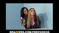 Dominant cop Kirsten Price seduces and fucks he...