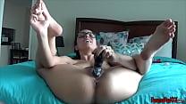 Download video bokep Fucking My Dildo In A Bikini SOLO ORGASM 3gp terbaru