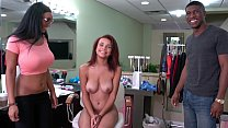 BANGBROS - Big Booty Pornstar Arianna Knight Shows Raven The Ropes porn thumbnail