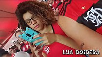 Brazilian young teen Lua Doidera Showing pussy in the middle of the flamenco crowd in maracana stadium
