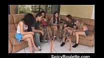 A group of amateurs playing strip poker & fucking Vorschaubild