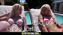 Two Hot Blonde Teen Step Sisters Elsa Jean And ... thumb