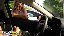 BANGBROS - Hipster Chick Catches Me Flashing Dick In A Parking Lot صورة