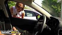BANGBROS   Hipster Chick Catches Me Flashing Di