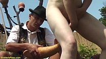 hairy 84 years old mom outdoor fucked's Thumb