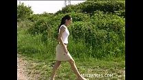 Sexy Outdoor Girl
