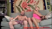 Horny Blonde Kate England POV Handjob AmericanTeenCam.com