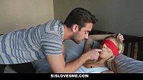 SisLovesMe - Annoying Step- Sis Takes Two Huge Cocks