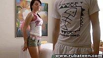RubATeen Sexy smalltits European teen Danaya ma...