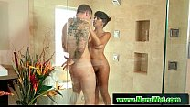 Horny Client Receive Nuru Massage And More on Air Matress 11