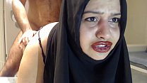 PAINFUL SURPRISE ANAL WITH MARRIED HIJAB WOMAN ! صورة