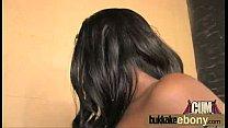 Ebony babe sucks and fucks several white dudes 24 thumbnail
