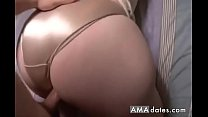 Bubblebutt in pigtails pussy and anal fuck - 9Club.Top