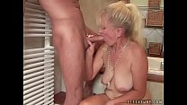 Bathroom sex with a mature woman Vorschaubild