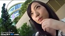 Japanese random girl accepts to fuck in hotel