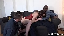 Young wife Lindsey Sheron finds a huge black cock in her ass thumbnail