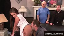 Cuckold Hubby Lets a Pornstar Bang His Slutty Wife Brooke Belle
