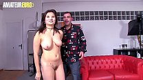 AMATEUR EURO -  Naughty Miyuki Son Pick Up And Fucks With Hairy Amateur Dude