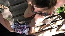 Image: Stepmom helps stepson cum in his treehouse - Erin Electra