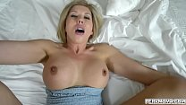 Amber Chase loves to fuck like a pornstar with her stepson plowing her tight milf pussy