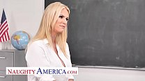 Naughty America - Rachael Cavalli Kristen Conner fucks student