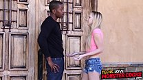 Babysitter Hollie Mack hammered by married black man