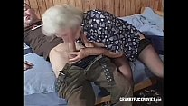 Hairy granny penetrated