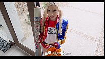 Tiny4K - Bad Girl Piper Perri enjoys a trick or treat fuck preview image