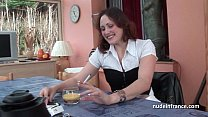 Sublime french redhead slut in with lingerie de... Thumbnail