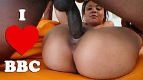 BANGBROS - Latina Jaslin Diaz Filled Up On Monsters Of Cock