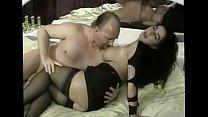 crazyamateurgirls.com - Luscious german MILF in black stockings fucked at the club - crazyamateurgirls.com