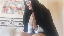 a nun unleashed. With fantastic tits but really vulgar صورة