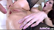 Hard Anal Intercorse With Big Round Ass Girl (s...