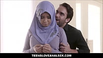 9693 Thick Muslim Teen In A Hijab Aaliyah Hadid Fucked In Ass By FBI Detective preview