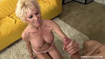 Topless Granny Splattered WIth Cum preview image