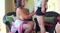 Stepmom teaches stepson sex tricks Thumbnail
