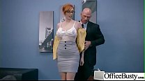 Sex In Office With Big Round Tits Girl (Lauren Phillips) video-21's Thumb