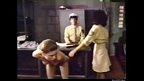 Frightened Girl and Lesbian Prison Officer pornhub video