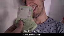 Straight Boy From Venezuela Enticed With Money